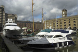 Marina at St Katharines Dock, Wapping