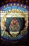 A window of the island chapel