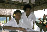 Resort staff, Turtle Island