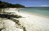 One of 13 private beaches