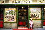 El Madrono, a tapas bar near the Plaza Mayor