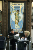 Cafe patrons, Sevilla