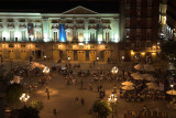 Wining and dining until late... Plaza Santa Ana