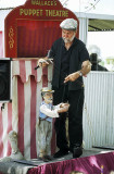Puppet show, Clunes Agricultural Show