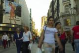 Shopping strip on Calle Preciados