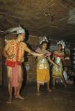 Dyak dancers