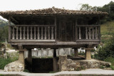 Asturian horreo or granary