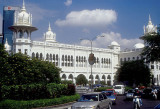 Kuala Lumpur Station, designed by the British to withstand heavy snowfalls!