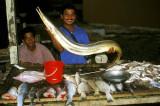 Fishmonger in Malacca
