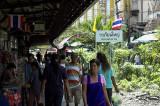 Suburban terminus at Wongwianyai, Bangkok