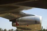 Jumbo jet Rolls Royce engine, Qantas Founders Museum, Longreach