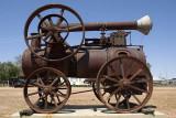 Traction engine at Yaraka