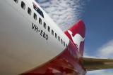 Boeing 747 Jumbo jet at the Qantas Founders Museum, Longreach
