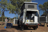 Camping at Curtin Springs