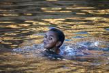 Swimming at Glen Helen