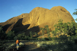 Sunrise at Kata Tjuta (the Olgas)