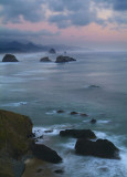Ecola State Park - Earths Shadow