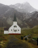 Church at the Grytvkin Whaling Station