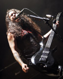 Tom Araya on vocals