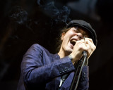 Vocalist Ville Valo of HIM