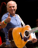 Jimmy Buffett Gives Me Thumbs Up