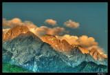 Yulong Mountain Sunset