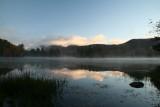 Lefford's Pond at sunrise.