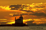 Oswego Lighthouse Sunset