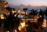 Night scene at the Cozumel Palace