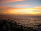sunset in Cozumel