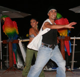 Dancers at Cozumel Palace