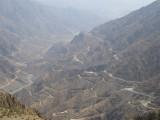 Al-Baha escarpment - 25KM with 25 Tunnels.JPG