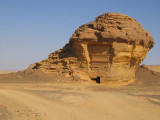 Madain Saleh - Incomplete architecture.jpg