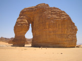 Elephant Structure outside Al-Oula.JPG