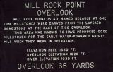 Mill Rock Point sign