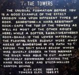 The Towers sign