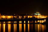 Prague - Lights and the river