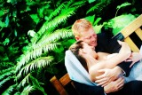 Cassie and Bruce's Sarasota wedding photography at Marie Selby Gardens