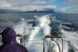 Leaving Simonstown