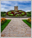 The Flower Clock of Niagara on the Lake