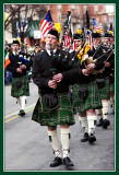 Someting American about Bagpipe Playing Scotsmen