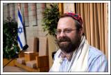 Off Center Portrait of Rabbi Daniel Swartz