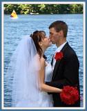 The Kiss at 12 O'Clock High Up Close