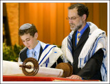 Josh Reads from the Torah Part II - the Foot Zoom