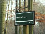 Vlieraardeweg, nous sommes en Flandre, mais seulement à quelques centimètres de la Région Bruxelloise !