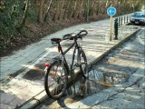 Dispositif d'entrainement au jump. Non loin du centre sportif et de la Forêt de Soignes... (suite)