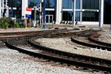 Red line tracks.