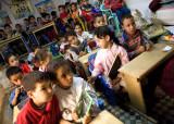Children learning the Koran