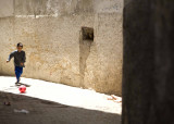 Football on the streets of Fez