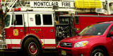Montclair FD And Red Car